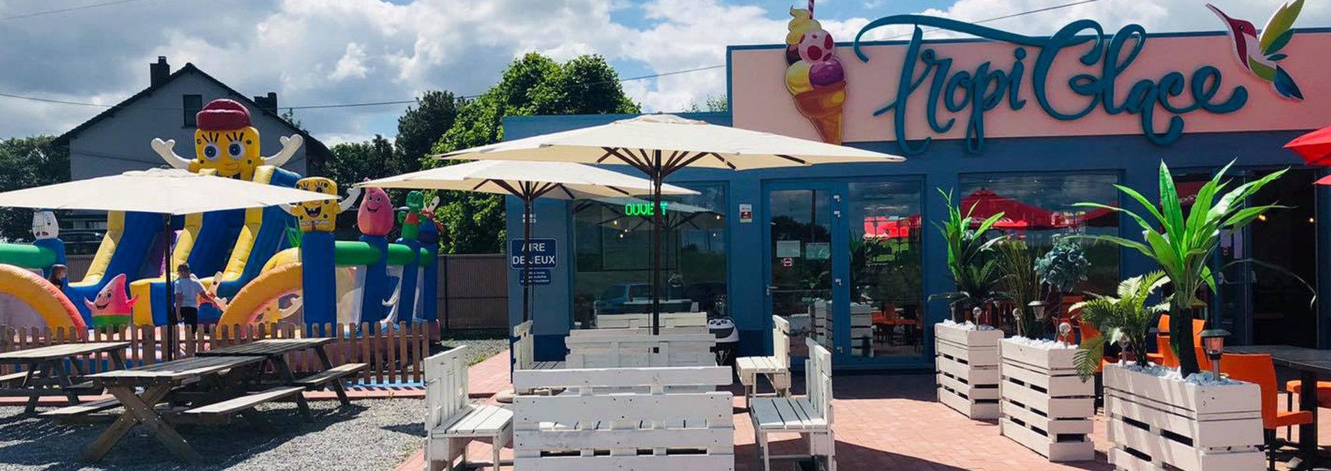 Tropi Glace - Maison vente et fabrication de glace artisanale sur place et à emporter – Snack Grill Amarena